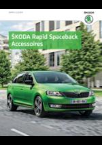 Catalogues et collections Skoda : Les accessoires de la Skoda Rapid Spaceback