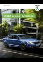 Catalogues et collections Skoda : Les accessoires Skoda Octavia