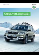 Catalogues et collections Skoda : Les accessoires Skoda Yeti
