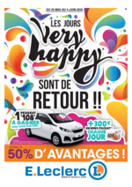 Prospectus E.Leclerc : Les jours Very happy sont de retour !!