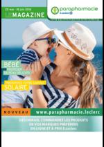 Prospectus Parapharmacie E.Leclerc : Le magazine parapharmacie