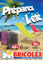 Prospectus Bricolex : Préparez L'été