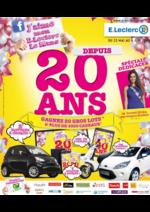 Prospectus E.Leclerc : J'aime mon E.Leclerc Le Mans