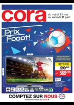 Prospectus Cora : Prix fooot !