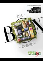 Prospectus Match : Ma box beauté