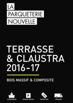 Promos et remises  : Catalogue: Terrasse & Claustra 2016-17