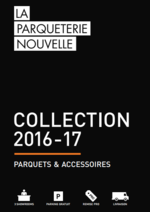 Promos et remises  : Catalogue: Parquets & Accessoires 2016-17
