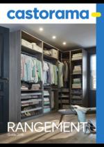 Catalogues et collections Castorama : Guide 2016 Rangement