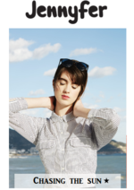 Catalogues et collections Jennyfer : Lookbook Chasing the sun