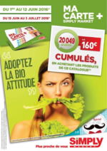 Prospectus Simply Market : Adoptez le bio attitude