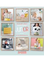 Catalogues et collections Maisons du Monde : Collection Junior 2016-2017