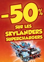 Promos et remises Maxi Toys : -50% sur les skylanders superchargers