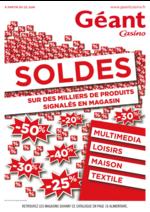 Prospectus Géant Casino : Soldes