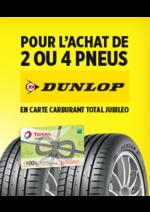 Bons Plans Feu Vert : Jusqu'à 100€ de carburant offerts pour l'achat de 2 ou 4 pneus