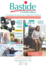 Catalogues et collections Bastide : Le catalogue printemps été 2016