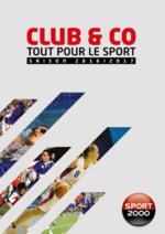 Catalogues et collections Sport 2000 : Tout pour le sport 2016-2017