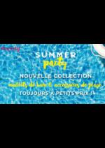 Catalogues et collections Eurodif : Lookbook Summer party : maillots de bain et accessoires de plage