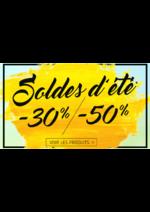 Promos et remises L'incroyable : Soldes d'été -30% et -50%
