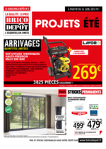 Prospectus Brico Dépôt : Projets été