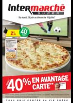 Prospectus Intermarché Super : Jusqu'à 40% en avantage carte