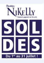 Prospectus Meubles Nikelly : Vive les soldes