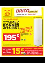 Prospectus Bricomarché : Festival de Juillet