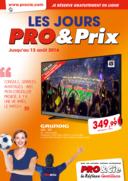 Prospectus Pro&Cie Avessac : Les jours Pro & Prix
