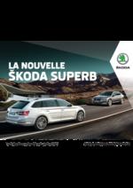 Catalogues et collections Skoda : Les tarifs de la nouvelle Skoda Superb