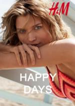 Catalogues et collections H&M : Lookbook femme Happy days