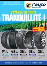 Prospectus L'auto E.Leclerc : Voyagez en toute tranquillité !