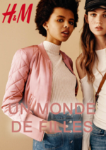 Catalogues et collections H&M : Lookbook femme Un monde de filles