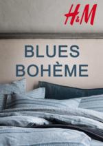 Catalogues et collections H&M : Lookbook home Blues bohème