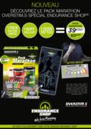 Catalogues et collections Endurance Shop PARIS : Pack Marathon 39,90€