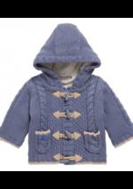 Promos et remises Sergent Major : La veste bleu marine bébé à 17,99€ au lieu de 35,99€