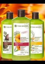 Catalogues et collections Yves Rocher : Beauté et force de vos cheveux : 3,50€ le shampooing