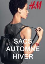 Catalogues et collections H&M : Lookbook femme sacs automne - hiver