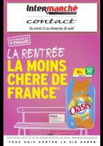 Prospectus Intermarché Contact : La rentrée la moins chère de France