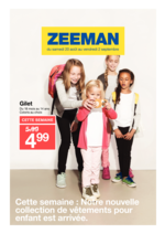 Prospectus Zeeman : Nouvelle collection enfant