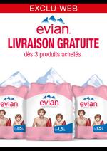 Promos et remises Monoprix : Opération Evian