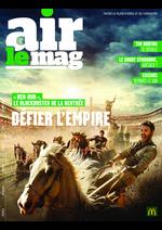 Journaux et magazines Mc Donald's : Air le mag septembre 2016