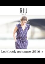 Promos et remises  : Lookbook automne 2016