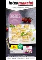 Prospectus Intermarché Super : Surgelés variez vos plaisirs à prix gourmands