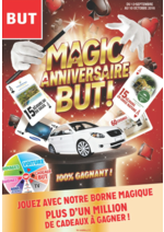Prospectus BUT : Magic anniversaire But