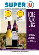 Prospectus Super U : Foire aux vins