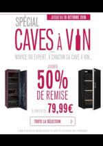 Promos et remises  : Spécial Caves à Vin