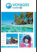 Catalogues et collections E.Leclerc voyages : Consultez la brochure automne hiver 2016-2017