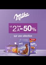 Bons Plans Monoprix : Milka le 2ème à -50%