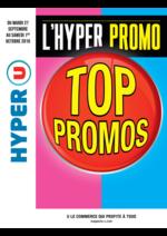 Prospectus Hyper U : L'hyper promo Top promos