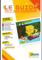 Promos et remises  : Le guide petit électroménager 2016