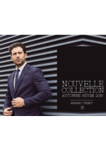 Catalogues et collections Armand Thiery Homme : Lookbook automne hiver 2016-2017